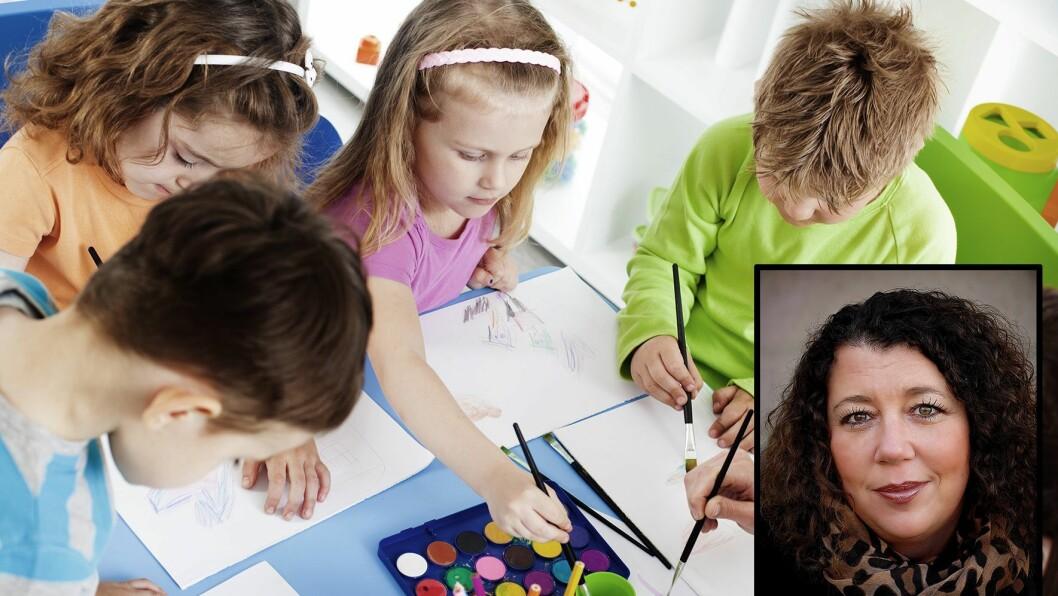 Kristin Oudmayer jobber med psykisk helse blant unge.