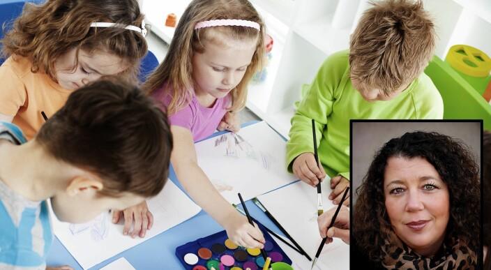 Ekspert: Presset om å være perfekt starter allerede i barnehagen