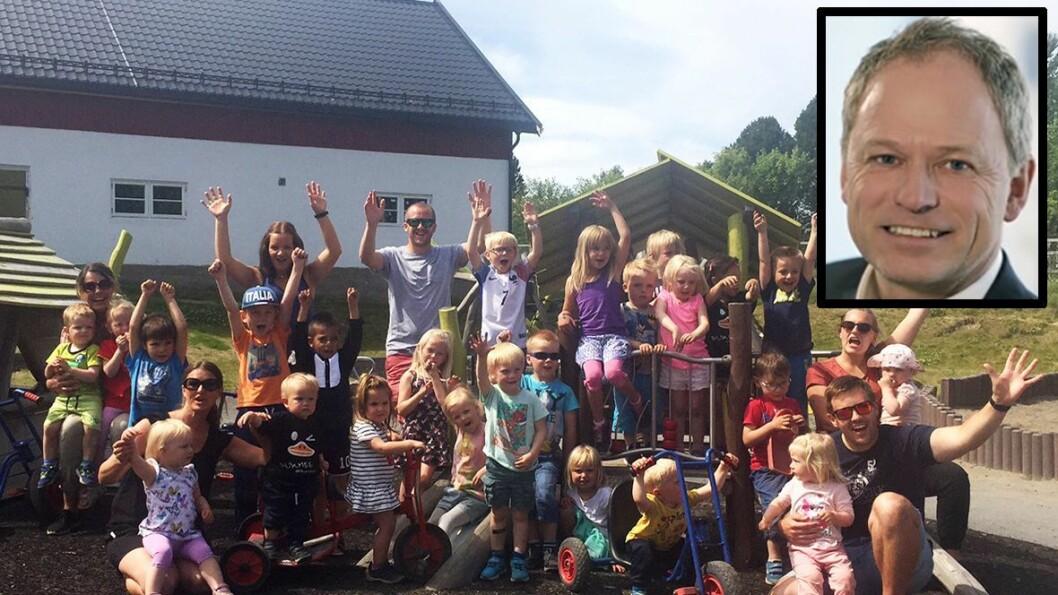 Kjetil Ørbeck gleder seg til jobben som administrerende direktør i Læringsverkstedet. Da får han det administrative ansvaret for nærmere 6000 ansatte og 20.000 barn, som dem i Læringsverkstedet Nerby barnehage.