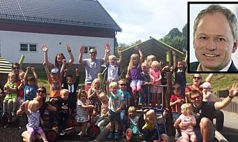 Den nye toppsjefen gleder seg aller mest til å møte barna