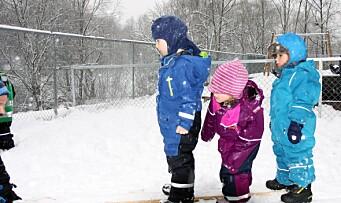 Arrangerte egne vinterleker: – Vi ønsker at barna skal ha glede av å være ute