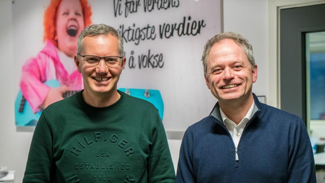 Hans Jacob Sundby går over i en annen stilling, men vil fortsatt være Læringsverkstedets ansikt utad selv om Kjetil Ørbeck er ansatt som ny CEO.