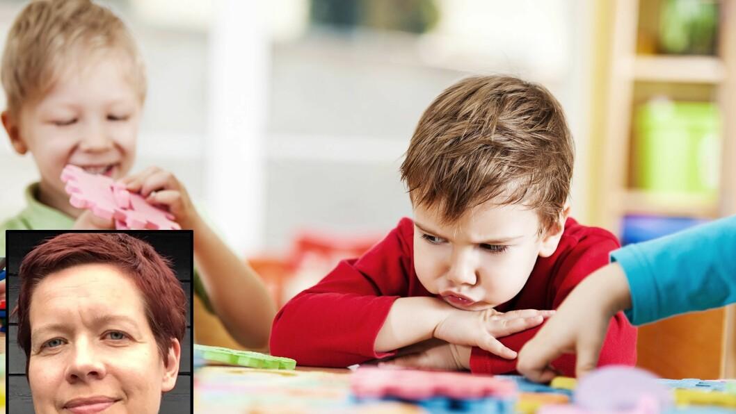 Reidun Landro, barnehagelærer og masterstudent i barnehagekunnskap ved HVL, reflekterer over hvordan vi håndterer barn som vi kan oppfatte som litt vanskelige. (illustrasjonsfoto)