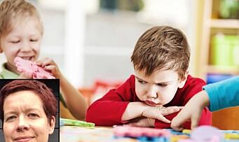 Hvordan håndterer vi barns motstand?