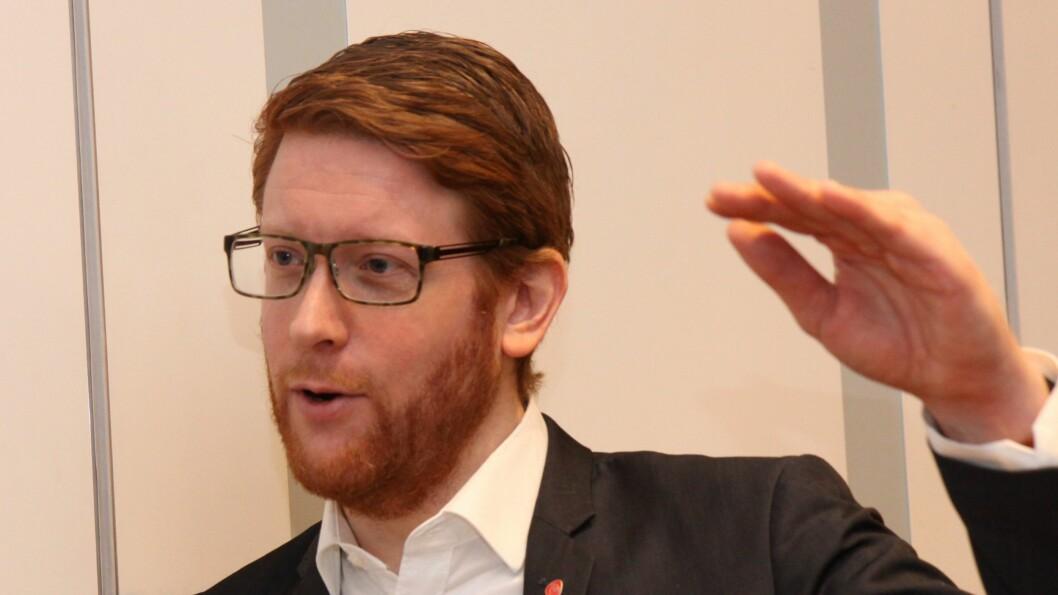 Stortingsrepresentant Martin Henriksen er Arbeiderpartiets utdanningspolitiske talsperson.