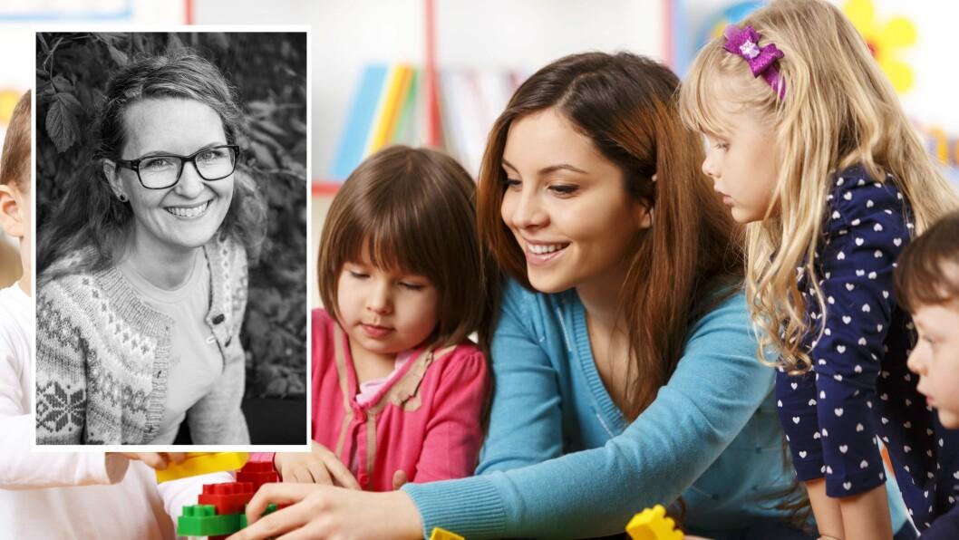 «Jeg er en SUPERHELT! Jeg og alle andre som jobber i barnehager rundt om i vårt landstrakte land,» skriver Marthe-Helene Tørhaug Viken som er barnehagelærer og nå tar videreutdanning i spesialpedagogikk.