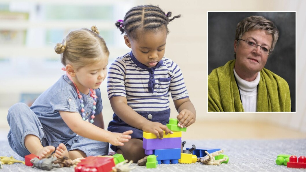 Tove Heggen Larsen er redaktør for boken Kampen om barndommen, og har også selv skrevet flere av artiklene. Nå håper hun den kan invitere til bred og saklig debatt om kvaliteten i barnehagene.