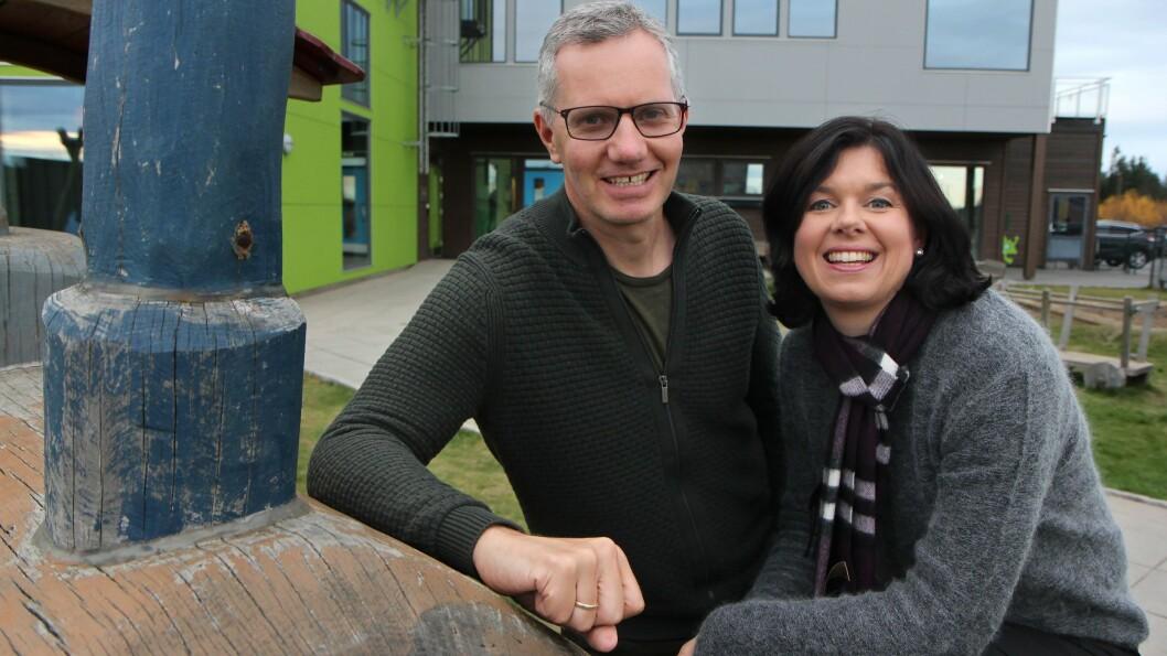 Hans Jacob Sundby eier Læringsverkstedet sammen med kona Randi Lauvland Sundby. Foto: Øyvind Johansen (arkiv)