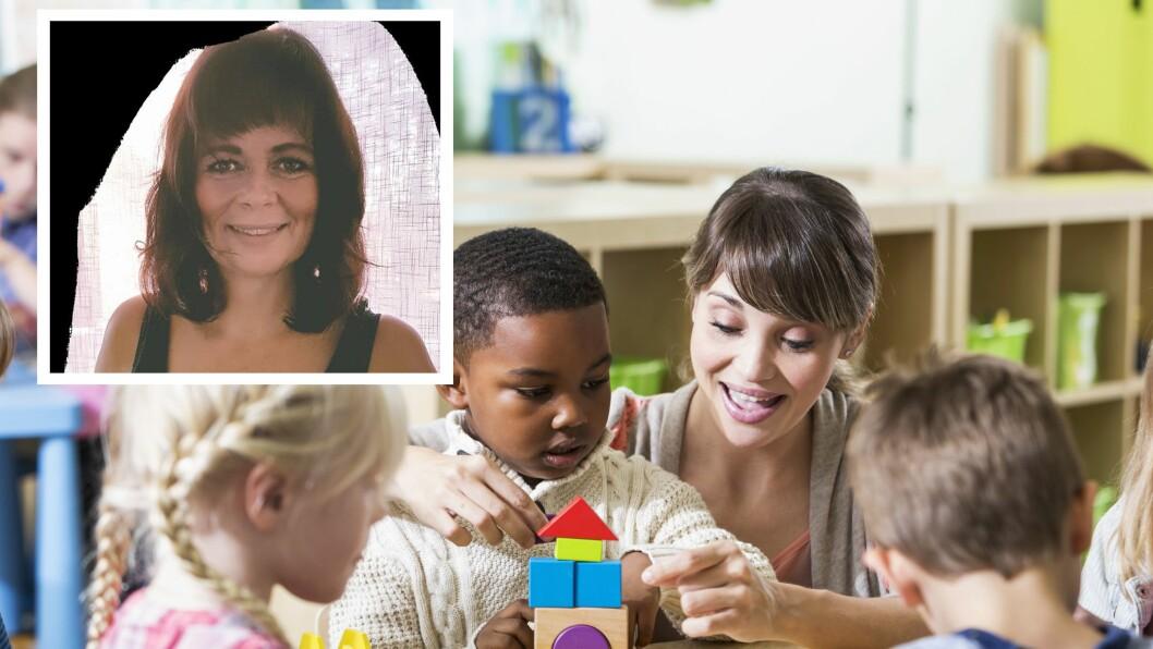 Rita Lie er barnehagelærer og spesialpedagog.
