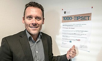 Kommunalsjef på pedagogjakt – innfører 1000-tipset