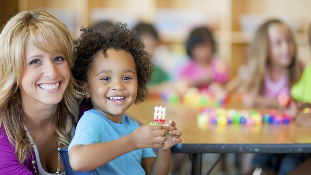 I 2017 var det 48 700 minoritetsspråklige barn i barnehage, viser tall fra Utdanningsdirektoratet. Illustrasjonsfoto: Istockphoto