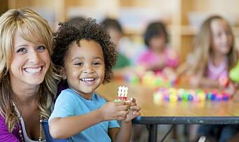 Stadig flere minoritetsspråklige barn går i barnehage