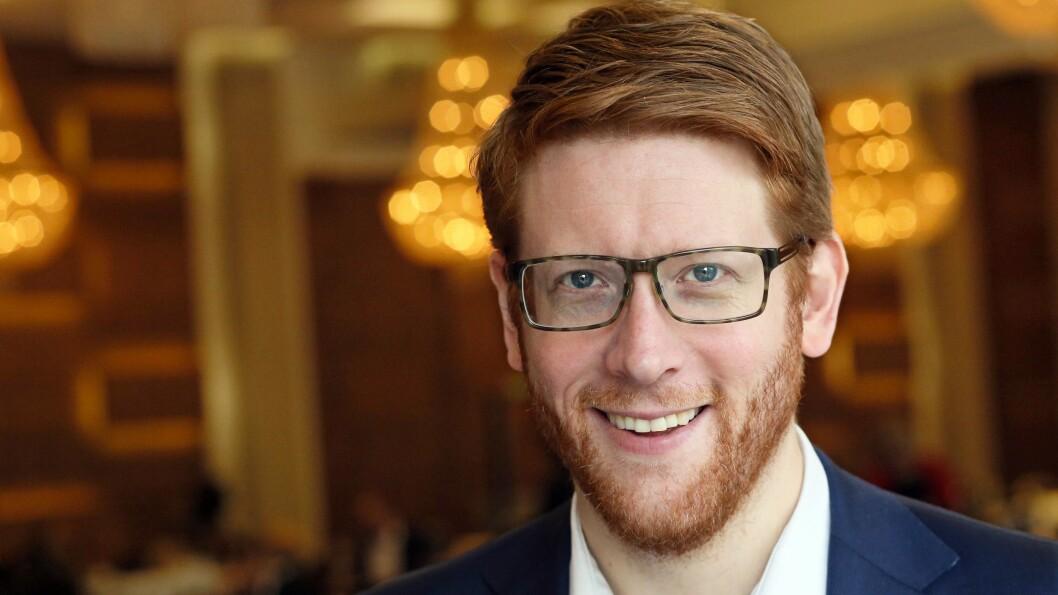 Martin Henriksen (Ap) er Arbeiderpartiets utdanningspolitiske talsperson. Foto: Bernt Sønvisen, Ap