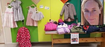 Bytter klær og leker i barnehagen - og det blir mer og mer populært