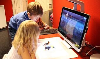 Her får barna brukt kreativiteten med barnehagens 3D-printer