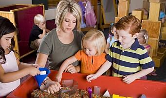 Danmark: Vil trappe opp forskning på barnehage