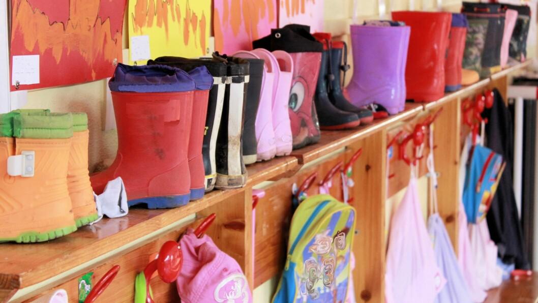Oppsøkende virksomhet skal få flere familier til å velge barnehage for sine barn. Illustrasjonsfoto: Getty Images