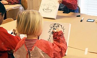 - Barn trenger å bruke alle sansene sine for å lære, og da er det veldig viktig også å få med de estetiske fagene
