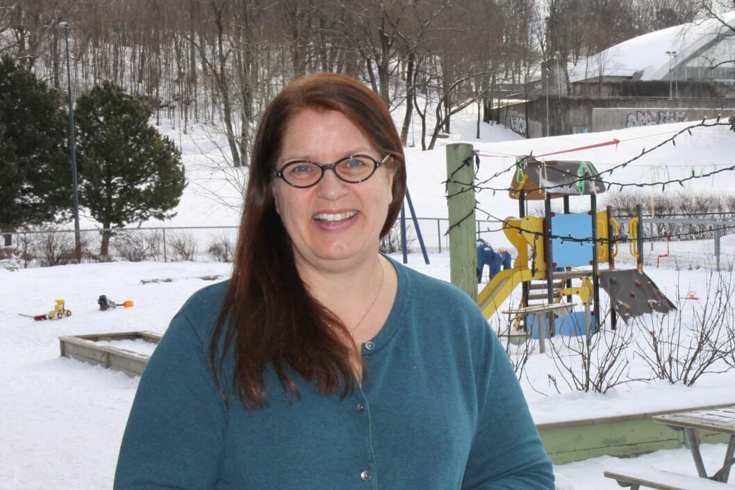 Daglig leder i Kulturparken FUS barnehage, Kristin Nyberg.