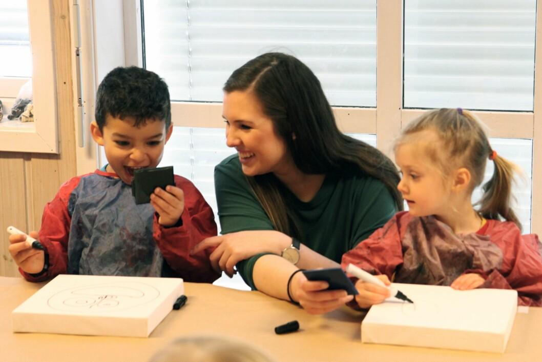 Pedagogisk leder Maren Løken.