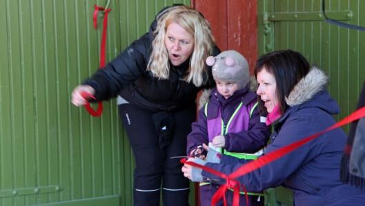 Wenche Høyforslett fra Fagforbundet og Karina Vertot fra Utdanningsforbundet.