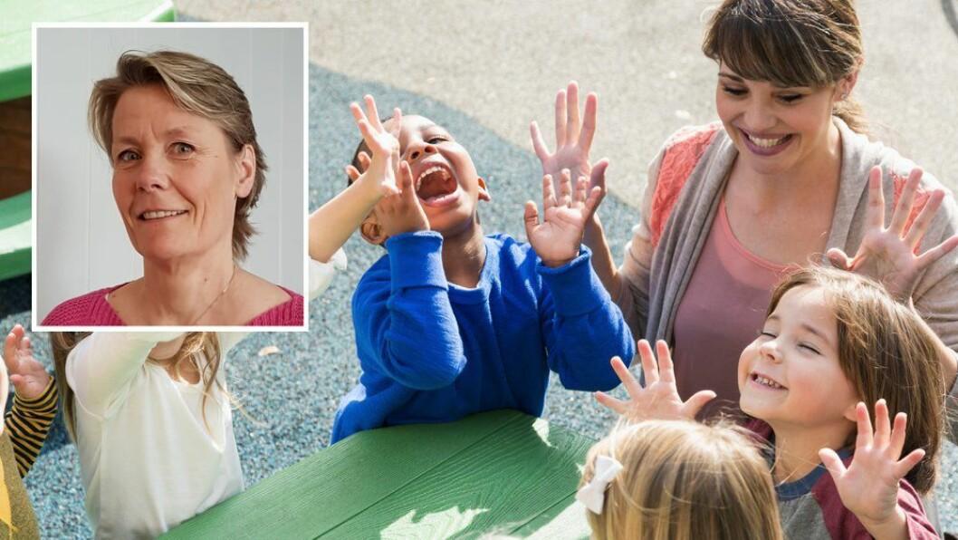 «Å være leder i en barnehage handler om å balansere mange ulike oppgaver,» skriver Anne-Lene Skog Dahl.