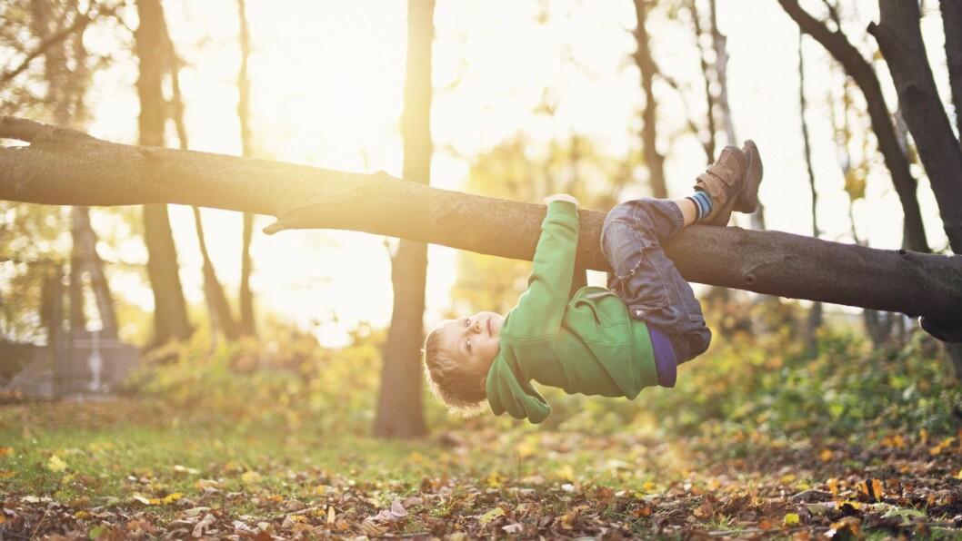 «Naturen er rett og slett verdens beste lekeplass,» skriver Emilie N. Andreassen.