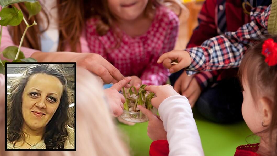 Barnehagen ligner på en fabrikk der det forventes at barna tenker likt, og skal passe inn i A4-formatet, skriver Blerta Pllana Demaku.