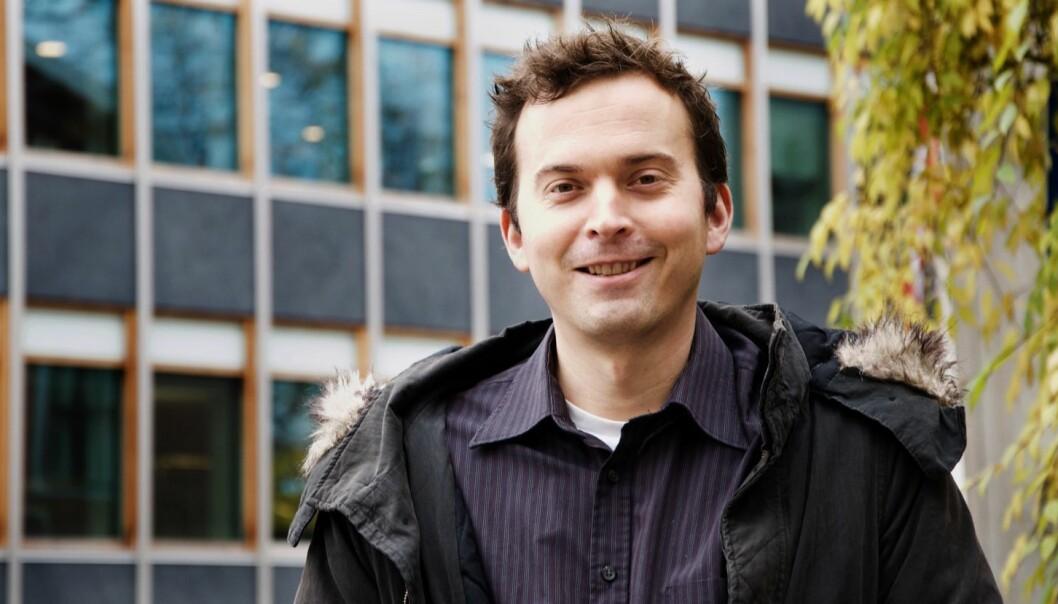 Jonas Smebye Wiksén er utdannet barnehagelærer. Foto: Janse kommunikasjon AS