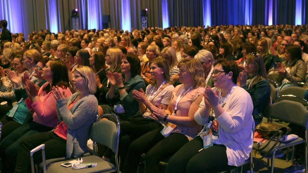 Det er plass til inntil 2.000 deltakere på Barnehage 2018. 25 foredragsholdere skal gjøre sitt til å gi deltakerne en god dose faglig påfyll. Foto: PBL