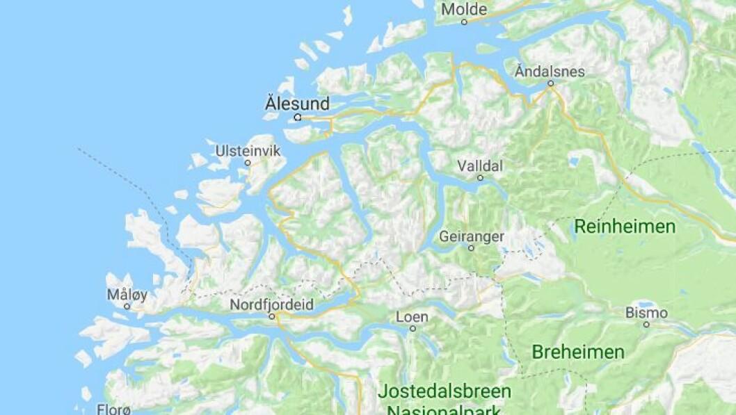 Den siktede barnehageassistenten kommer fra Sunnmøre. Foto: Googlemaps