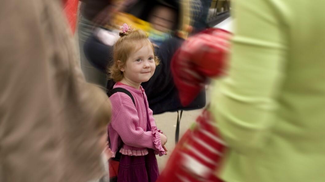 Nesten alle norske barn går i barnehage før de begynner på skolen. Illustrasjonsfoto: Getty Images