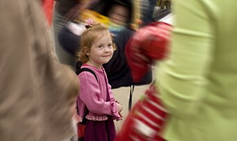 Færre barn i barnehage – men andelen øker
