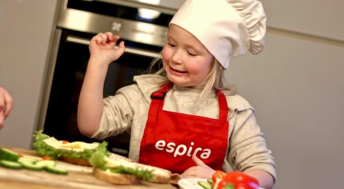Vil gi barna gode matvaner med seg inn i skolen