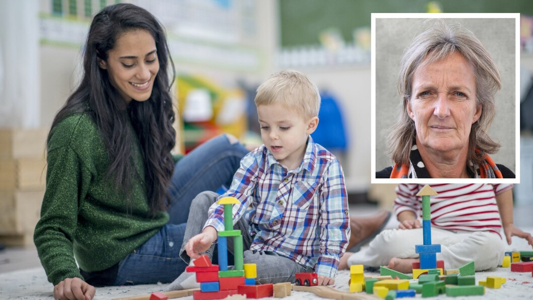 – Små lekegrupper, det å få øvd seg i leken, er mobbeforebyggende, sier professor Ingrid Lund.