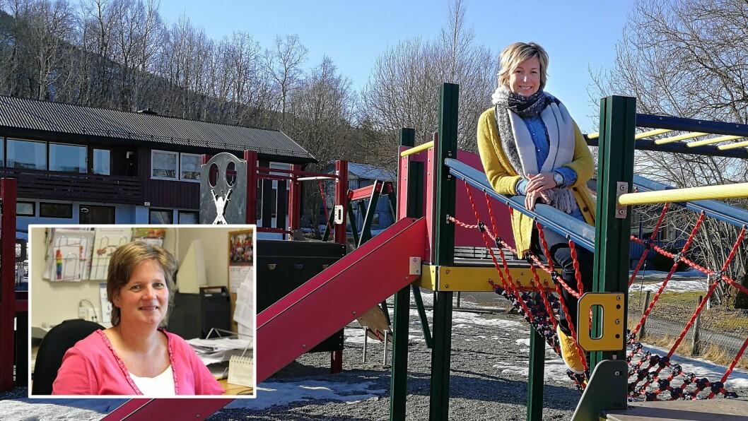 Ann Elin Øyen Løfald, styrer i Bårdshaugen barnehage i Surnadal og Tone Sandbo, styrer i Noahs Ark barnehage i Rakkestad (innfelt), driver ganske like barnehager med med helt ulike rammevilkår.