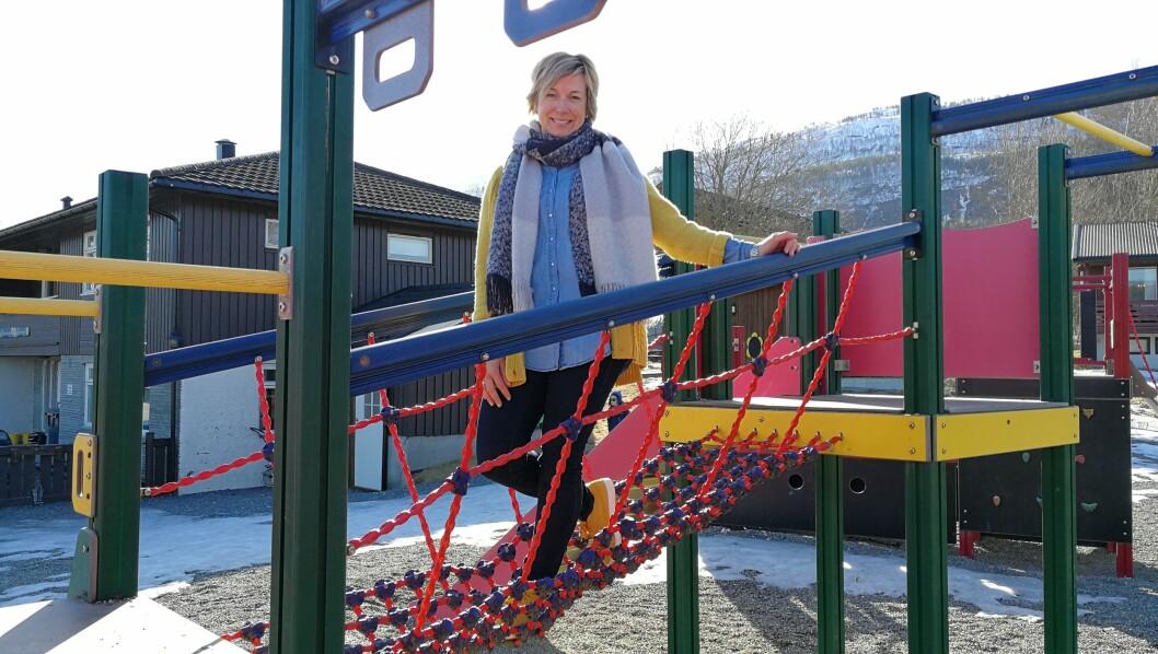 Ann Elin Øyen Løfald, styrer i Bårdshaugen barnehage i Surnadal, har et godt samarbeid med kommunen.