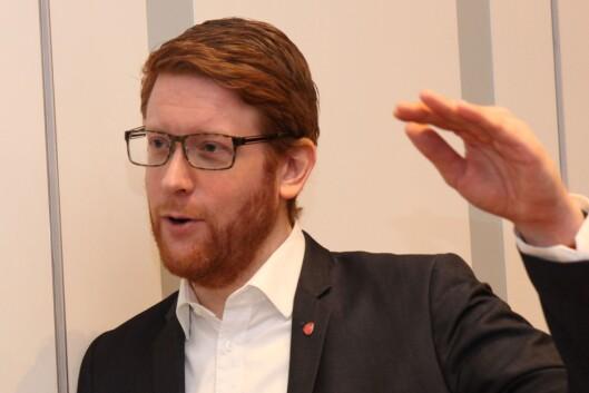 Vil ha svar: Stortingsrepresentant Martin Henriksen, Arbeiderpartiets utdanningspolitiske talsperson.