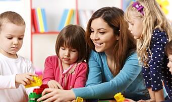 Sterk økning i søkertall: Flere vil bli barnehagelærer
