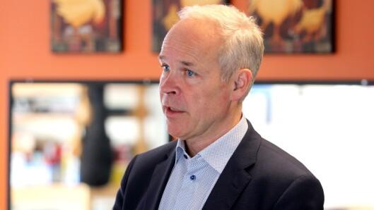 Kunnskaps- og integreringsminister Jan Tore Sanner synes det er svært gledelig at det er en økning i søkningen til barnehagelærerutdanningen.