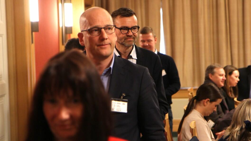 Utdanningsforbundet blir ledet av Steffen Handal. Foto: Øyvind Johansen