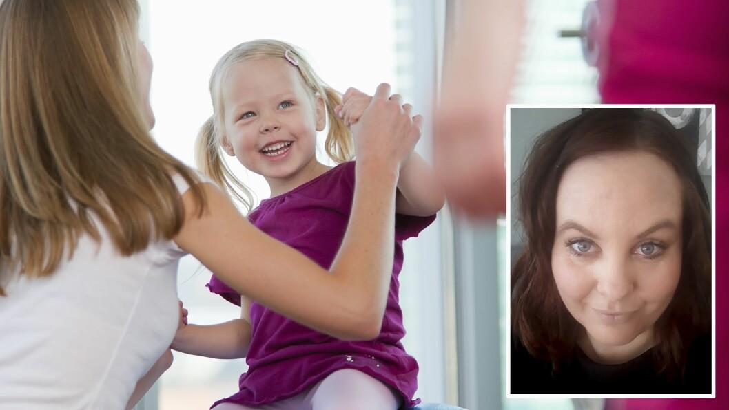 Janne Therese Gausel brenner for de voksnes tilstedeværelse i lek og samvær med barna. Foto: Getty Images/privat