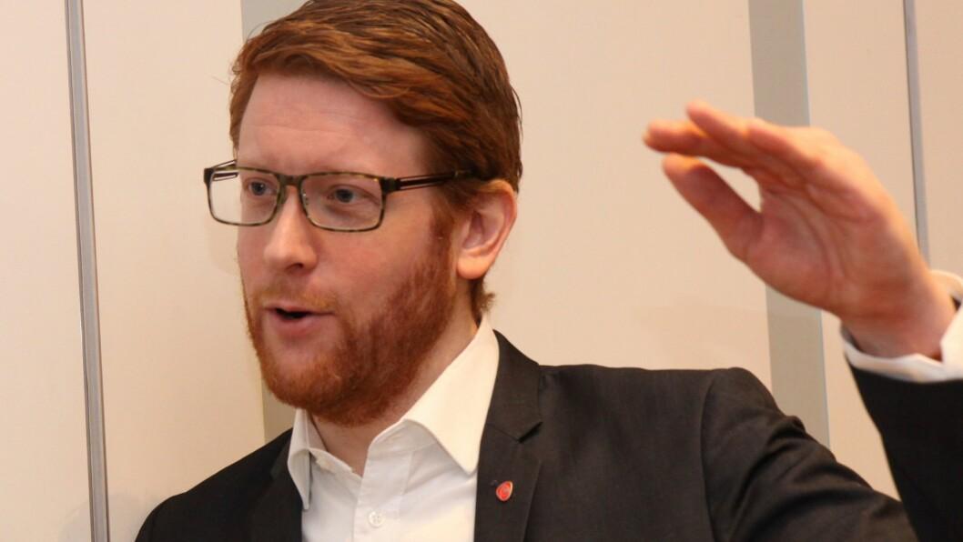 Martin Henriksen er Arbeiderpartiets utdanningspolitiske talsperson. Foto: Silje Wiken Sandgrind