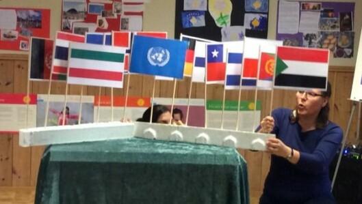 Gjennom sitt engasjement for SOS-barnebyer har barna lært mye om verden.