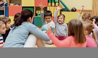Barnehagelærere mer fornøyde enn andre lærere