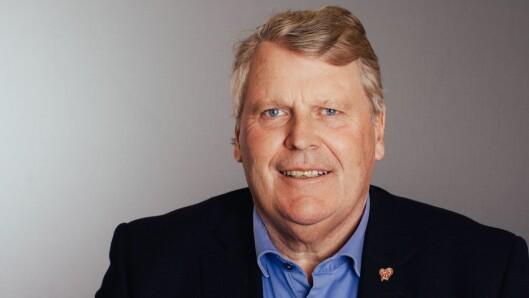 Stiller til debatt: Utdanningspolitisk talsperson Hans Fredrik Grøvan i Krf.