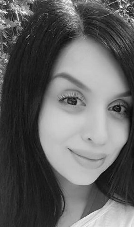 Nathalia Rabiah Salman er barnehagelærerstudent og nybakt mor