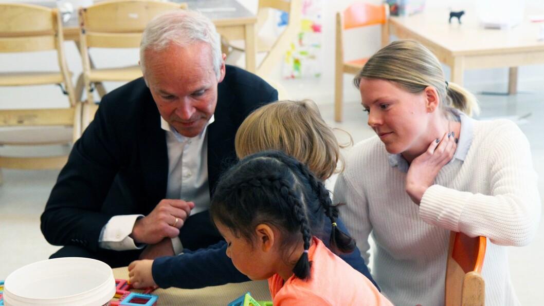 Rebecka Keihl er utdannet spesialpedagog og tar for tiden tilleggsutdanning i barnehagepedagogikk for å kunne bli pedagogisk leder.