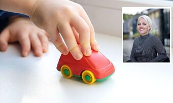 – Toåringer med svakt språk faller ofte utenfor leken