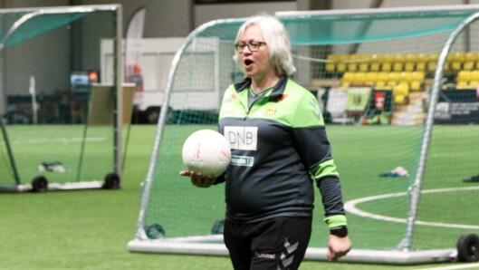 Assistenttrener for LSK Kvinner, Anna Collett.